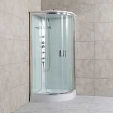 New arrival luxury 2 person whirlpool steam shower cabin with tub and sauna bath shower