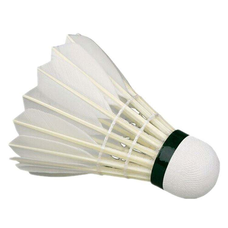 High Quality Goose Feather Badminton For Tournament