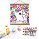 Diy Digital Unicorn Canvas Painting By Numbers For Children Kids