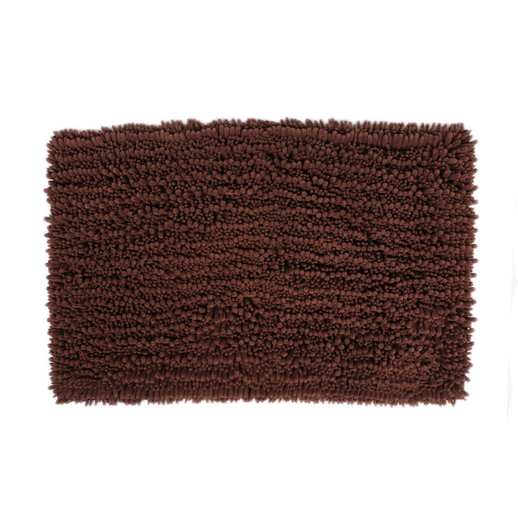 Customized Home Use Absorb Water Comfortable Non-slip Anti Microfibre Floor Chenille Spa Child Bathroom Mats