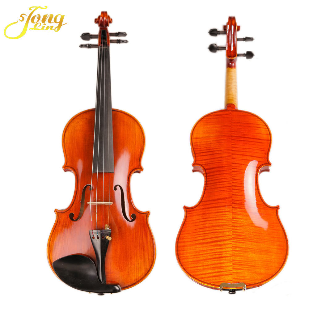 TL005-gold High Quality Discount Price Over 30 Years Wood Violin China Fitness