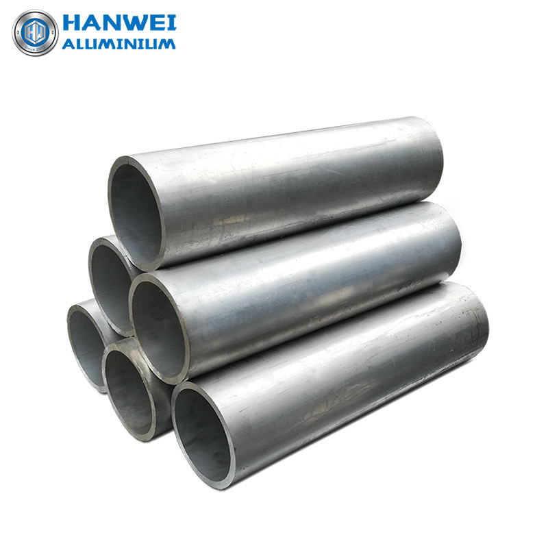 Aluminum profiles pipe alloy round tube