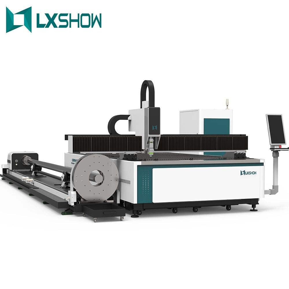 2020 LXSHOW heavy industry 1530 fiber laser machine metal steel cutting machinery LXF3015J with exchange table