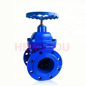 Price List 6 inch water non-rising stem bonnet bolted cast-iron sluice gate valves