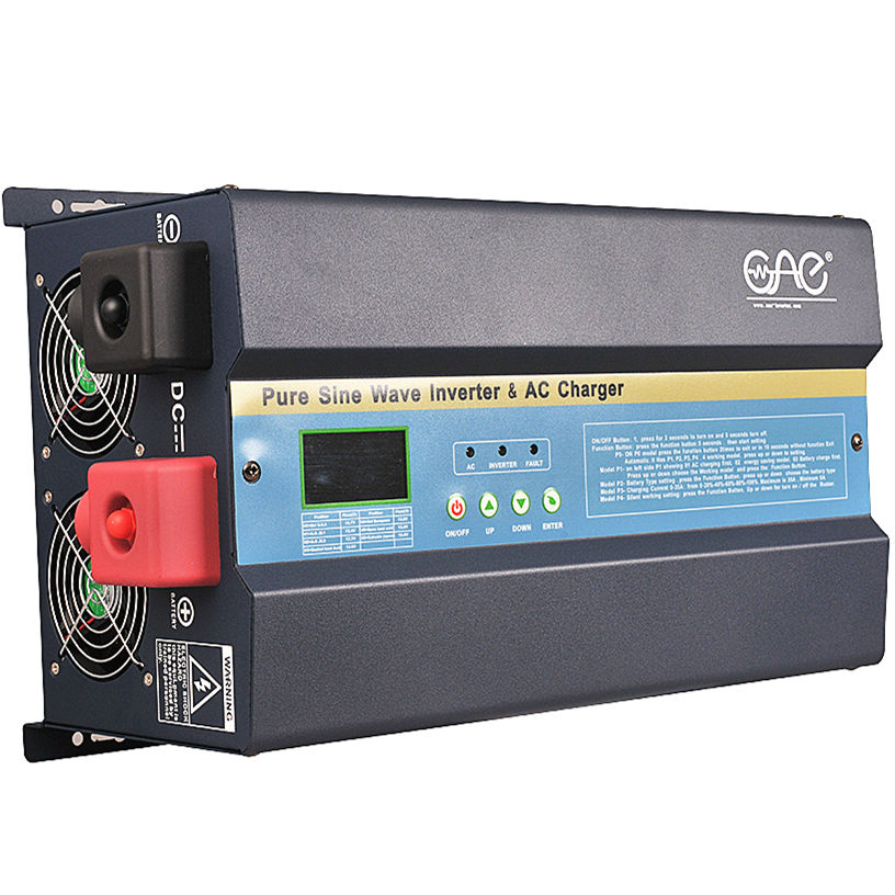 High Quality 1kw 2kw 3kw 4kw 5kw 6kw 7kw solar power inverter pure sine wave inverter with mppt charge controller