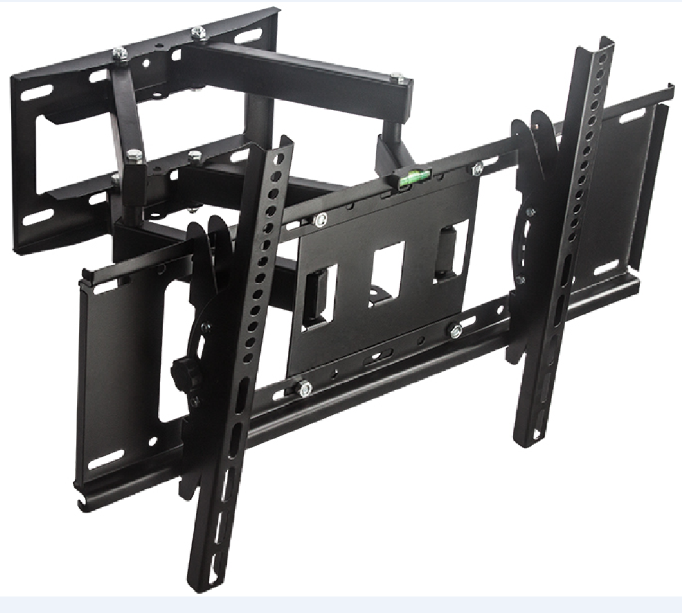 Brand New VESA 600*400 32-70 Inches Stainless Full Motion TV Wall Mount With Cable management