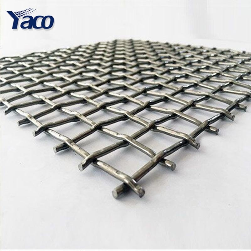Decorative Mesh 3x3 Stainless Steel Galvanized Crimped Wire Mesh / Aluminum Alloy Crimped Wire Mesh Woven for Screen & Walls