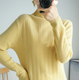 classis style knit style wool sweater mock neck knitwear in factory price