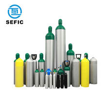 0.4-40L TPED/DOT/GB Aluminum Gas Cylinder Medical Oxygen cylinder/Scuba Diving Tank/Co2 Beveage Cylinder