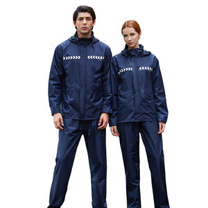 wholesale adults rain coat and pant waterproof raincoat rain suit/ rain coat with pant