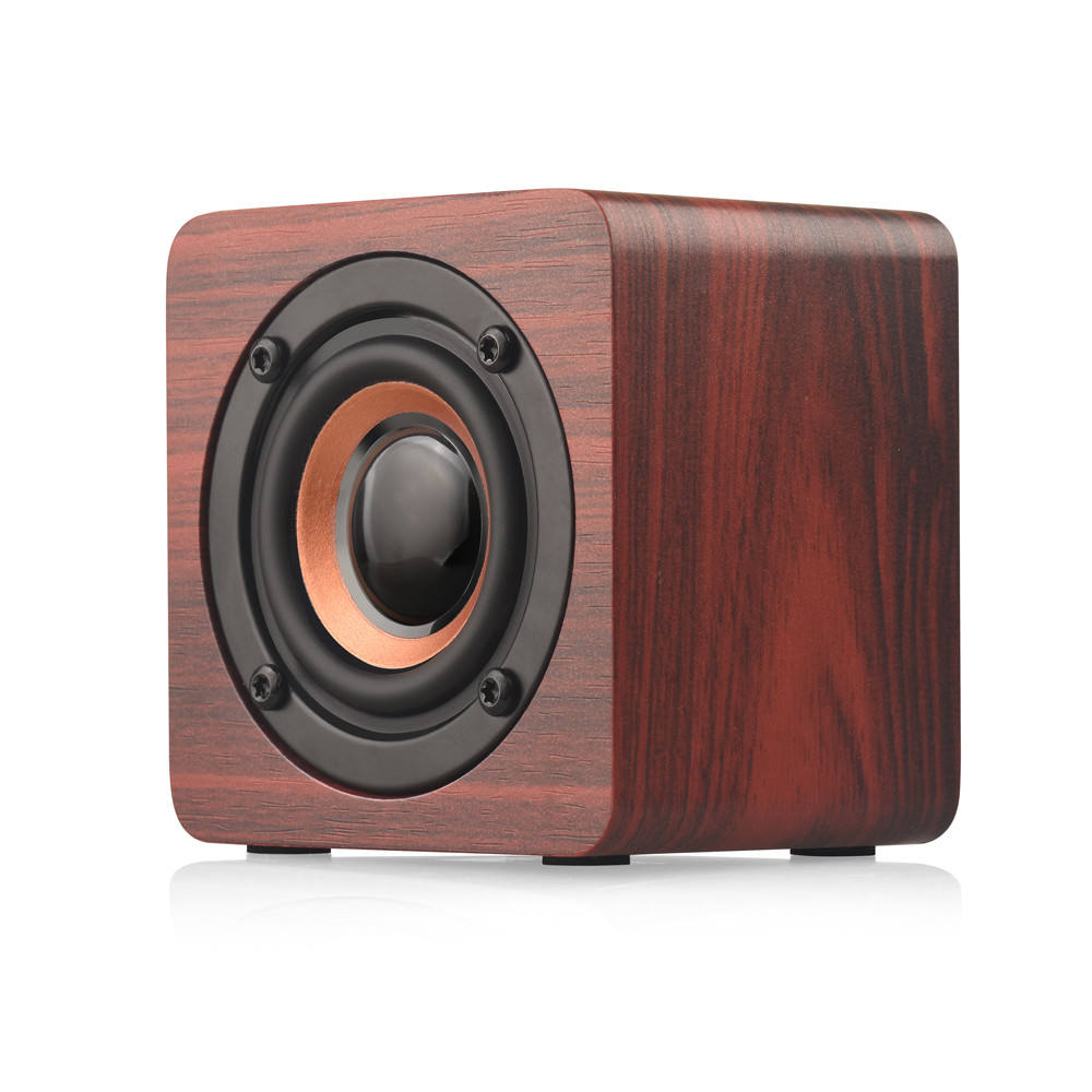 HIPERDEAL For iPhone X 6S Samsung Mini Wireless Bluetooth Speaker Portable Wooden Speakers Sound Music Hand free