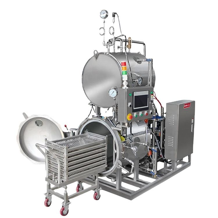 High temperature and high pressure sterilization retort food autoclave