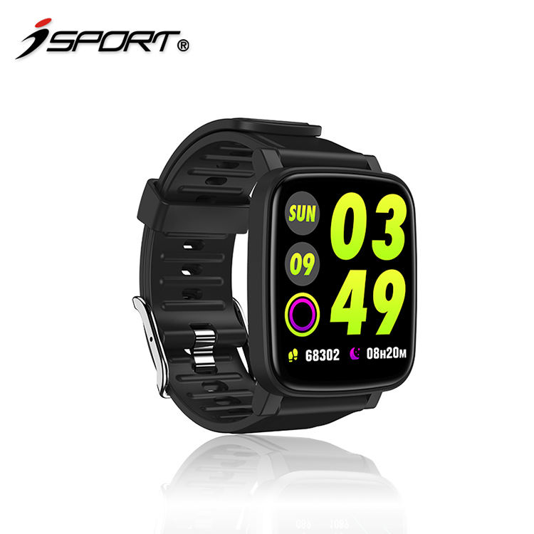 Full screen multi-touch sport tracker healthcare gadgets fitness equipment smart+watch smart ring fitness band