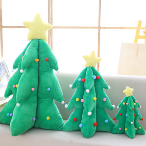 50CM Custom new design soft plush christmas tree toy for decoration