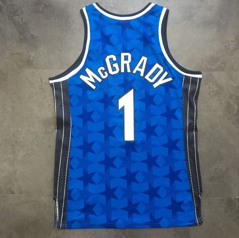 Tracy McGrady Blue Best Quality Stitched Basketball Jersey
