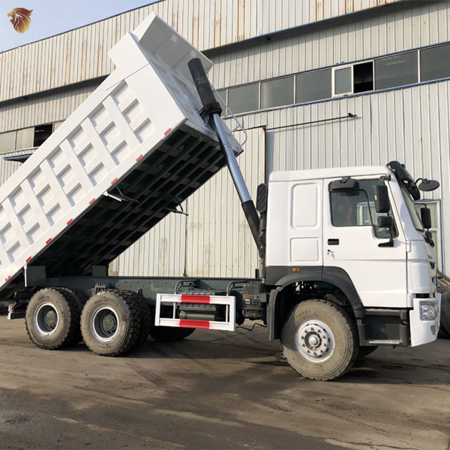 Sinotruk HOWO 371HP 375 HP 380HP 6x4 Euro 2 Euro 3 Left hand driving Right-hand drive Used Dump Truck For Sale