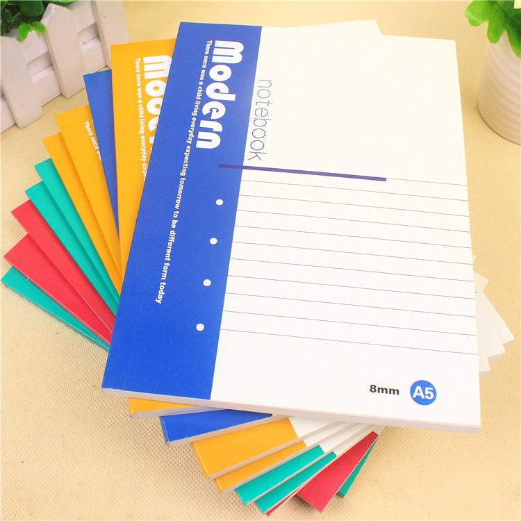 Sketch Office Stationery Wholesale A5 Soft Notebook Student Workbook 32k Exercise Book Notepad