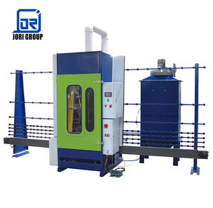 High performance automatic glass frosting machine sandblasting machinery