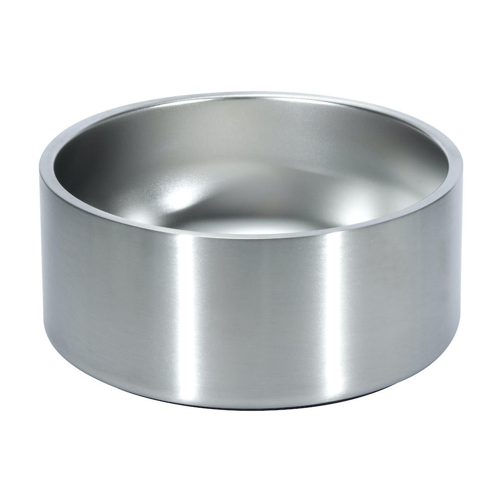 64oz wholesale stainless steel dog cat pet food water bowl