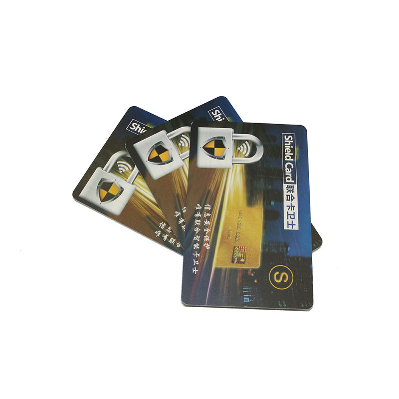 Custom Printed Active RFID Card To Protect Your Entire Wallet