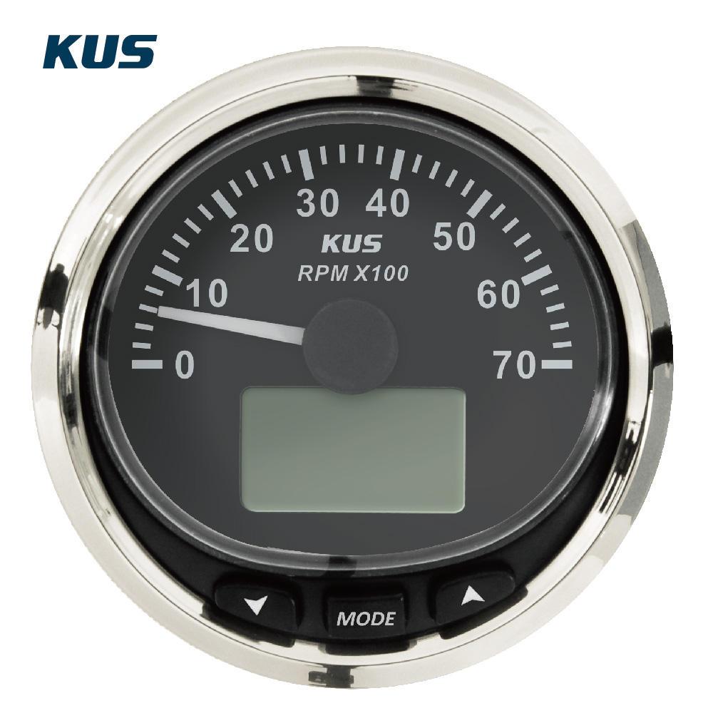KUS Water Temperature Gauge Digital LED Caravan Truck Boat Marine 25-120 Degrees