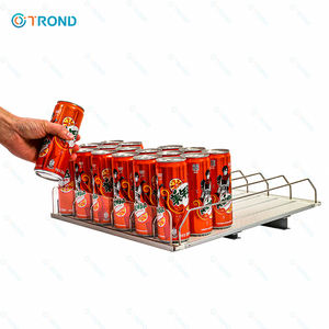 Plank Roller Management Systeem Gravity Feed Rekken Smart Plank Voor Supermarkt