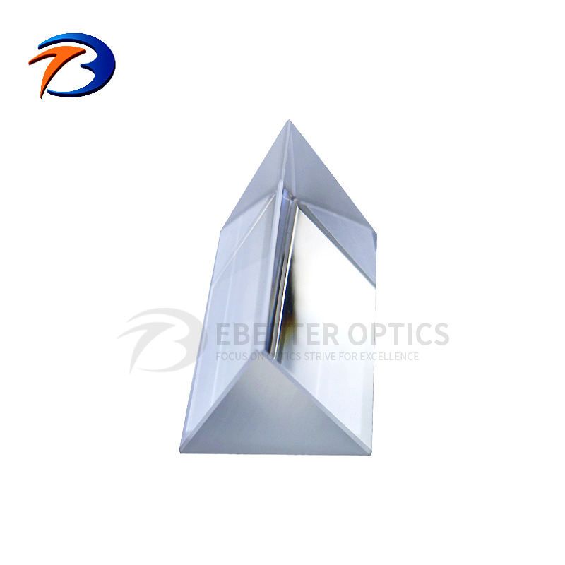 Wholesale small optical glass dispersion equilateral triangle quartz dispersive prism
