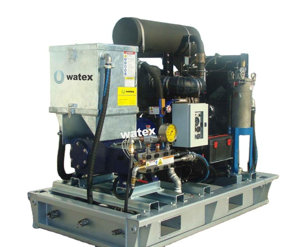 high pressure water blaster machine for ship industry