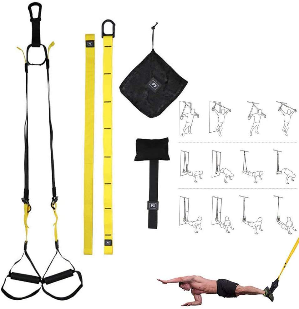 TRX ALL-IN-ONE Suspension Training Bodyweight Resistance System Full Body Workouts gym equipment
