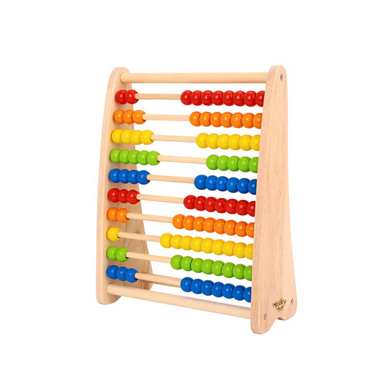 2020 New Design Beads Abacus Baby Kids Learning Wooden Educational Toy For Kids