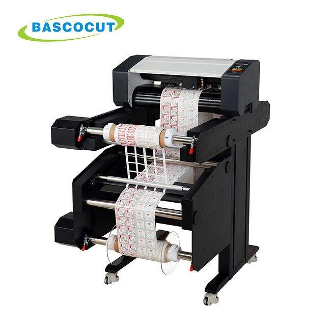 Bascocut Blank Label Die Cutting Machine /Roll To Roll Sticker Cutter/Label Cutter