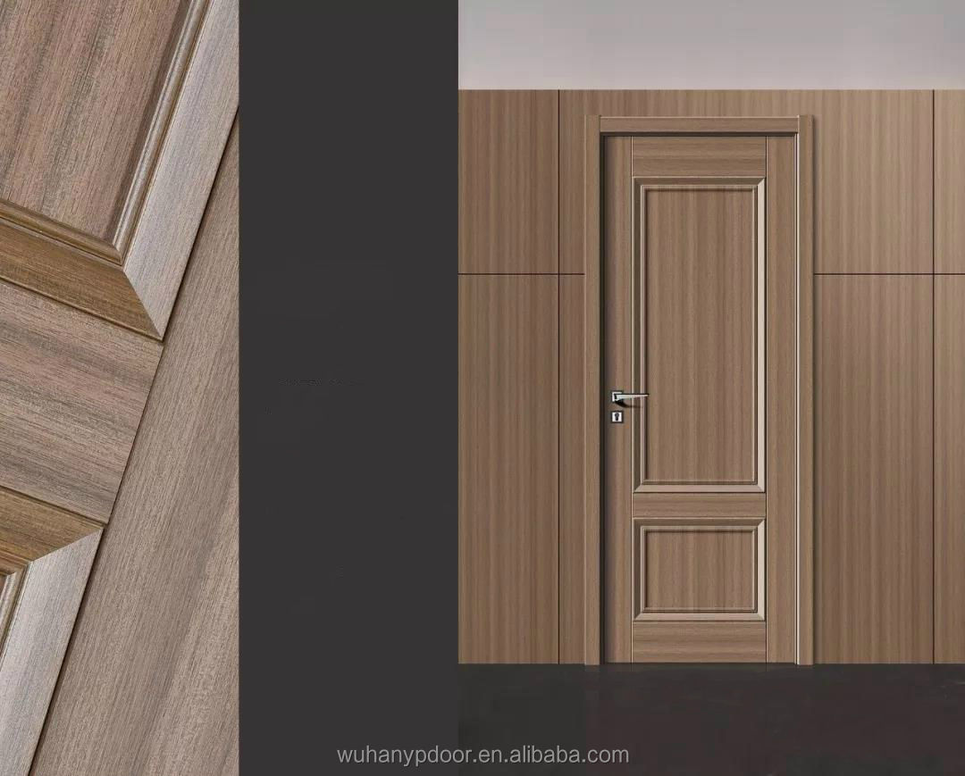 Door Manufacture Hot Selling Modern Swing Interior Doors With MDF Melamine Skin
