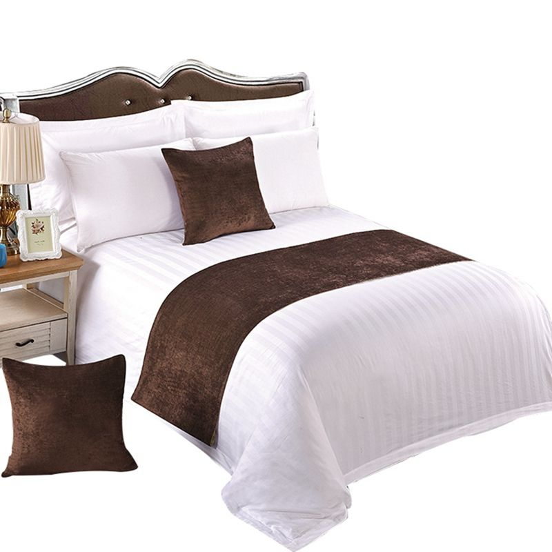 Hotel Linnen Hotel Beddengoed Set 300 Thread Count streep Laken