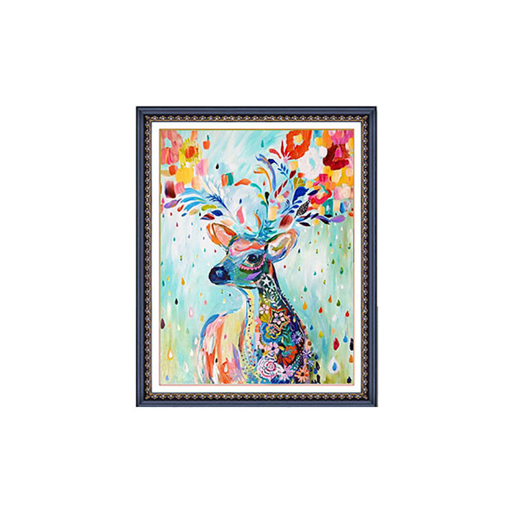 Animal Design Painting By Numbers Wholesale Diy Oil Painting By Numbers Kit For Adults