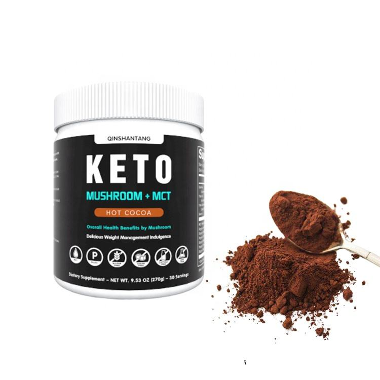 Private Label Nutrition Wholesale Supplements Capsules Slimming Weight Loss Keto Food with 6 Mushroom Mix Powder