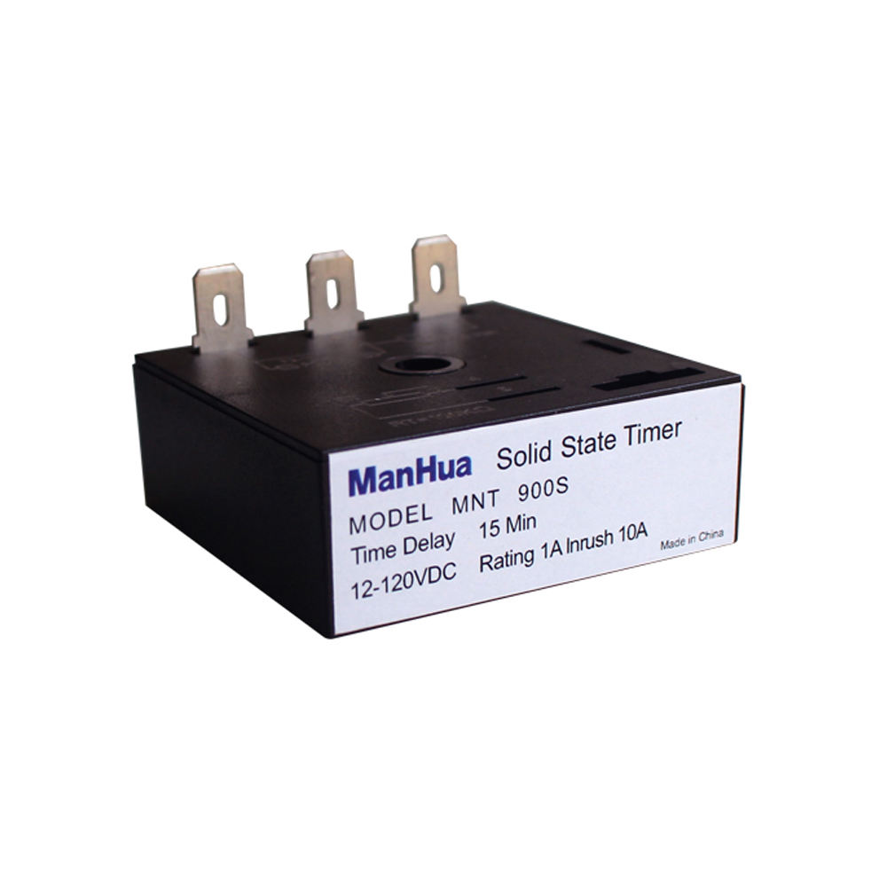 Manhua Alibaba China Supplier Fixed Delay 45s,180s,1290s,Solid State Delay Timer