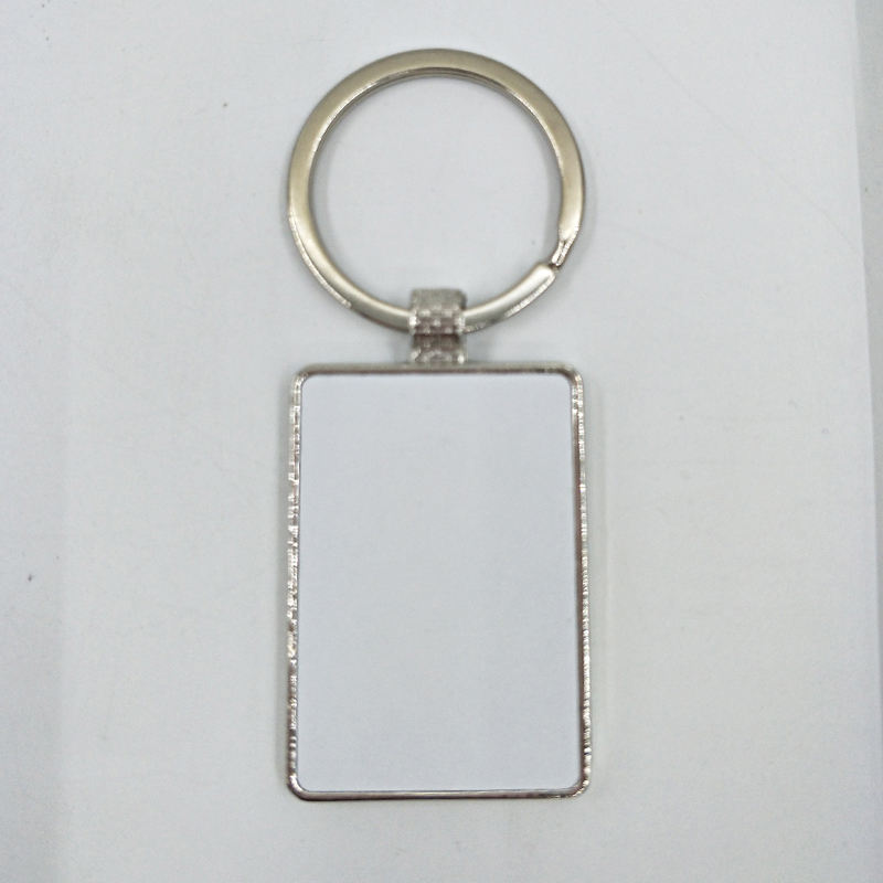 Yiwu Factory JSK-04 New Custom Blank Sublimation Metal Keychain For Promotion/Christmas Gifts