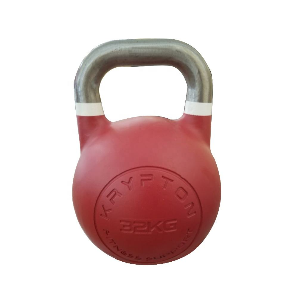 OEM equipment Kettlebell Competition Kettlebell Set Handgrip Dumbbell 4-48kg Kettle Bells Set Kettlebell Weights
