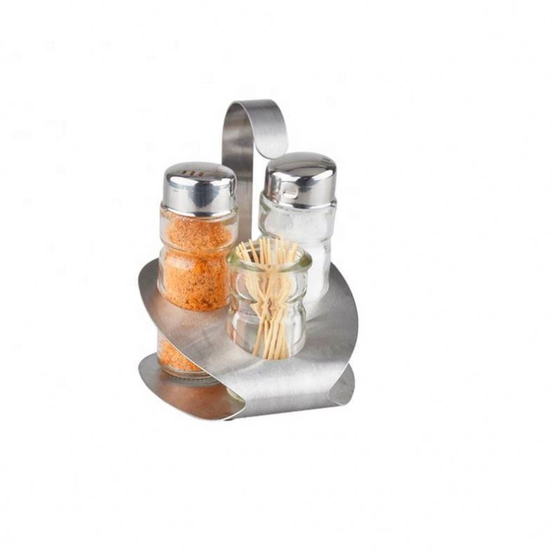 China Products Salt Pepper Toothpick Set With Napkin Holder