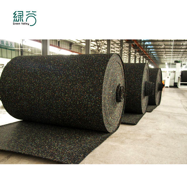 Anti-Shock Zachte Rubber Floor Gym Roll Vloeren/Outdoor Rubber Matten Roll Voor Fitness Sport Center Met Ce/Iso/EN1177