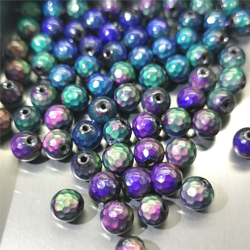 Color change stone Temperature stone Factory wholesale ball shape loose Mood stone