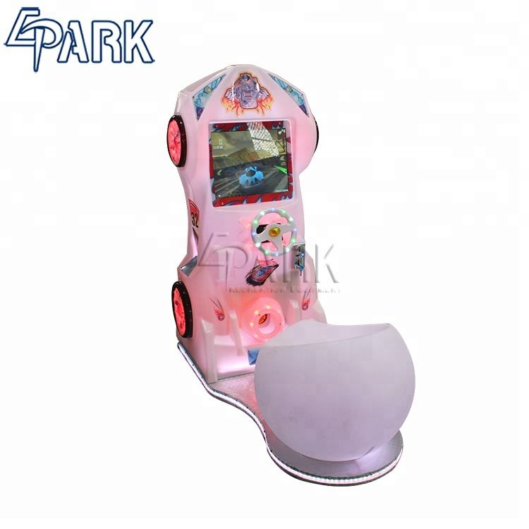 EPARK Car Video Game Simulator Racing Machine Initial Arcade Game For Adults coin amusement game machine for sale