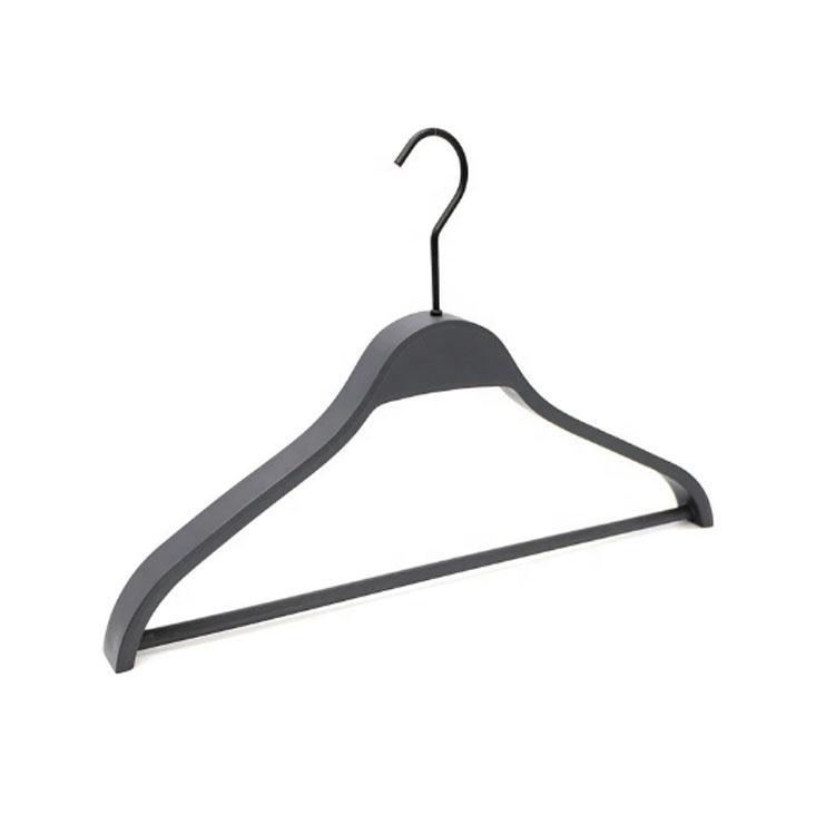 "50 Black Plastic Clothes pinch clip skirt pants Hangers 14/"" Display 6014 bottom"