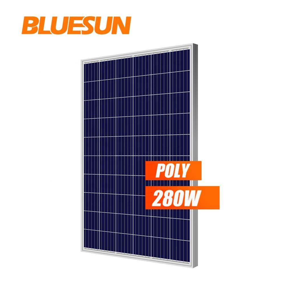Bluesun 1000w Solar Panel Poly 280w PV Panel with MPPT Solar Charge Controller