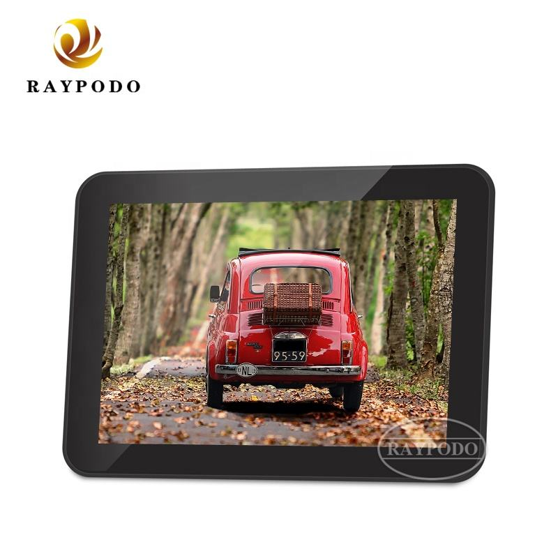 Raypodo 8 Inch Android 8.1VESA wall mount POE advertising players tablet for commercial display