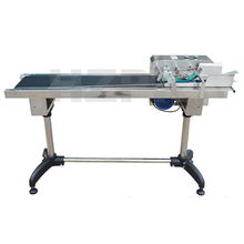 HZPK automatic plastic adhesive labelling counting paging machine date with stacker
