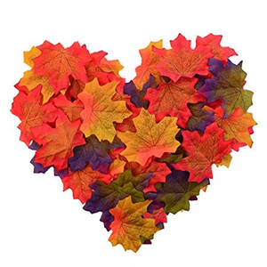 Thanksgiving Day Ornamente Rot Herbst Maple Leaf Tür Dekoration Hochzeit