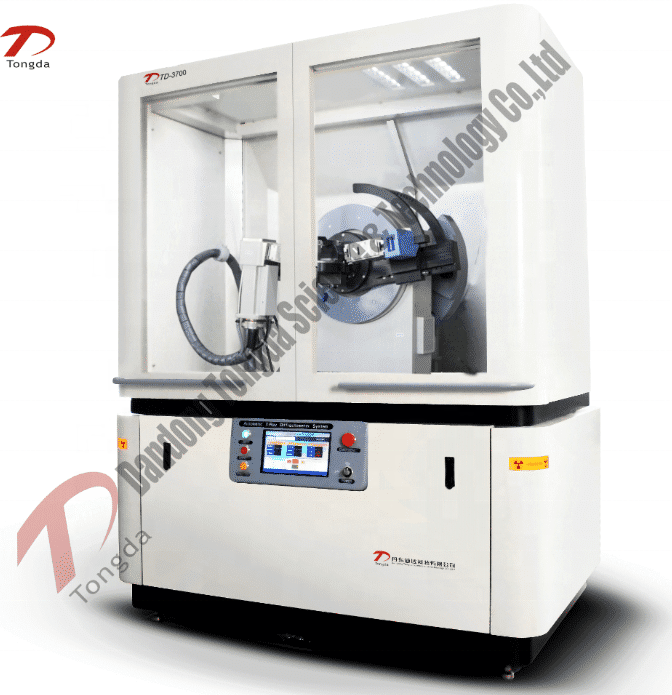 Tongda XRD Clay minerals analysis TD-3500 X-ray diffractometer