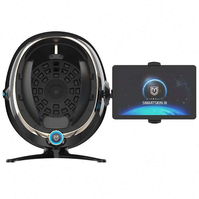 High Quality Smart Advanced Images Analysis System Rgb Pl Spectrum Latest Design Mirror Portable 3D Face Skin Analyzer