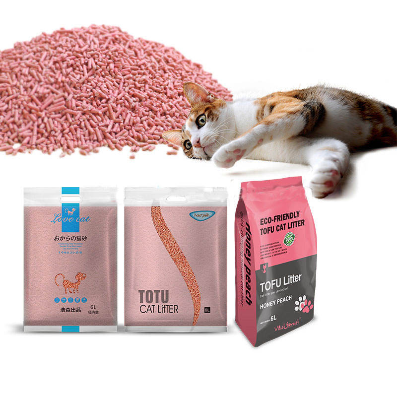 New supply professional oem wholesale natural tofu cat litter 2.0MM